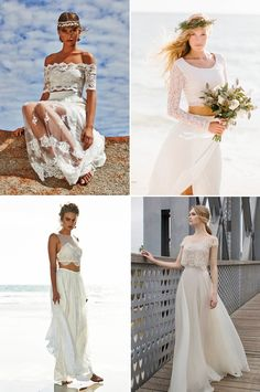 Crop tops made a big splash on bridal runways this year, and the trend is here to stay! From bohemian, to vintage-inspired, to completely modern and whimsical, the idea of adding a sense of easiness and showing off your style through a two-piece design can be both cool and classy. At first you may be …