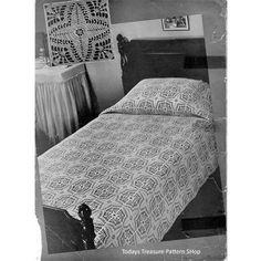 Weathervane Crochet Bedspread Pattern | Todays Treasure Pattern Shop