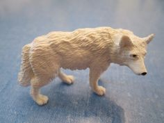 Vintage North American White Wolf Wildlife Safari Ltd Educational Toys Figurine