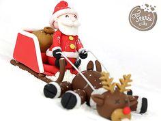 Tutoriel « le Père Noël et son traîneau »