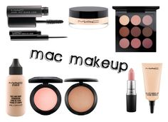 """""""MAC MAKEUP"""" by queenstone on Polyvore featuring beauté, MAC Cosmetics, simple, makeup, mac, nude et maquillage"""