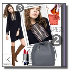 """""""Kreateurs  18"""" by ramiza-rotic ❤ liked on Polyvore featuring Deby Debo, Bobbi Brown Cosmetics and Guerlain"""