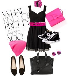 """Skater Girl Style #1"" by abcamazing on Polyvore"