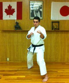 Sempai Matthias Ramirez-Motta - World Class Karate - JKA of Mississauga, Ontario