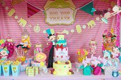 Vintage carnival party! Sooo creative