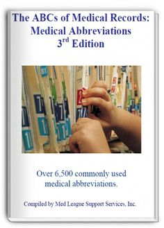 Decipher more than 6,500 medical abbreviations. Get it free for legal nurse consultants at www.patiyer.com