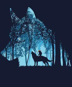 """Princess forest"" on Qwertee"