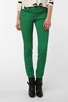 BDG Ankle Cigarette Mid-Rise Jean - Green. $58.00.  Urban Outfitters