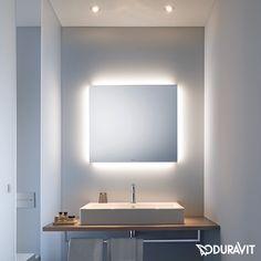 Duravit Spiegel mit indirekter LED-Beleuchtung, Better-Version