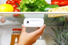 This smart-camera lets you peek in and check your fridge while youre shopping for groceries Jerry Seinfeld, Wi Fi, Pudding Cups, Frozen Pizza, Take That, Let It Be, Grocery Store, Yanko Design, Smartphone