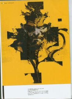 Yoji Shinkawa - The Art of Metal Gear Solid: Peace Walker