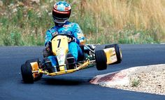 M.Schumacher they all come, almost, karting