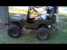 ▶ Mini Jeep, newest driver - YouTube
