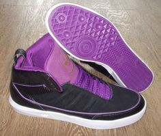 NEW ADIDAS UPTOWN SELECT Originals MENS 11.5 Black Purple NWT #adidas #Athletic