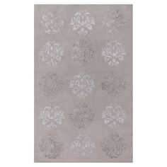 Hand-tufted wool and art silk rug with a medallion motif.  Product: RugConstruction Material: Wool and art silk 5x8 385.00 Joss and Main