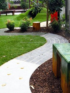 Tessa Rose Natural Playspaces Blogspot: Newest completed project, SDN Paddington, 0-2 YOA Playspace