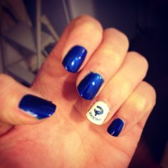 Canuck nails, cool!