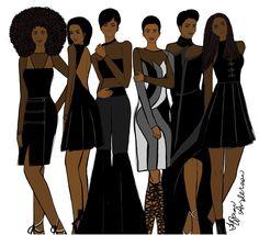 Black Beauty - Tiffani Anderson Illustration