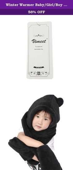 Winter Warmer Baby/Girl/Boy Hoodie Gloves Pocket Earflap Hat Long Scarf Shawl Wraps. Name: Winter Warm Baby Cap Hat Condition: 100% Brand New and First Quality Details: It is suitable for children of 3-10 years old. 3.Please note: the age is only for reference. 4. It's fashionable, is a very useful accessory brighten up your look, also as a gift. 5. Hand wash dry flat do not bleach,great colorway,warm and breathable,will go with most outerwear,great for any outdoor activities Please allow...