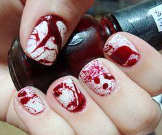 Blood Splatter Polished Love ♥
