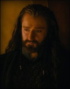 Thorin Is So Handsome. The Hobbit: An Unexpected Journey.