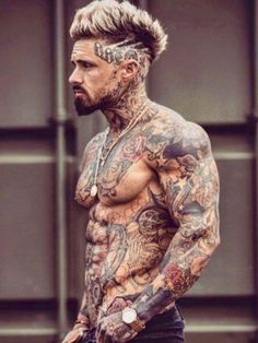 tattoos for women tattoos, tattoos for guys, inked men. Hot Guys Tattoos, Neck Tattoo For Guys, Tattoos For Women, Cool Tattoos, Mens Neck Tattoos, Front Neck Tattoo, Men Tattoos, Inked Guys, Inked Men