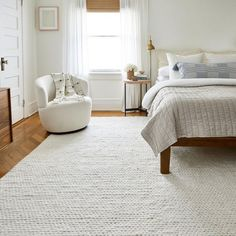 Textures Veronica Wool Braided Off White Rug Living Room Designs, Living Spaces, Braided Area Rugs, Coastal Rugs, Rugs Usa, White Rug, Home Bedroom, Master Bedroom, Bedroom Rugs