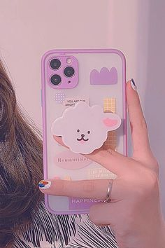 Kawaii Phone Case, Girly Phone Cases, Pretty Iphone Cases, Diy Phone Case, Iphone Phone Cases, Iphone Case Covers, Iphone 8, Mobiles, Aesthetic Phone Case
