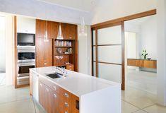Modern Japanese White Kitchen Design
