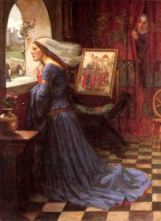 """Fair Rosamund"" John William Waterhouse #art #preraphaelite #medieval"