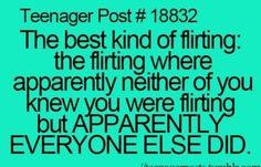 Like when me and my crush are talking and everyone is like Oooooooooooo!!!!!!!!!