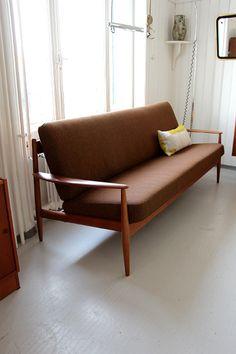 Grete Jalk sofa, France & Daverkosen, DK