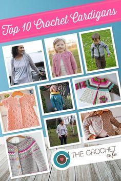 Top 10 Crochet Cardigans (Blog)