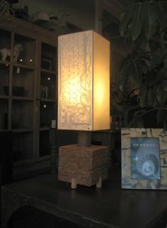 Recycled Wooden Lamp Design Seeking to find ideas about working with wood? http://www.woodesigner.net has them!