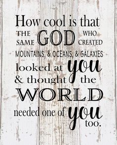 How Cool Is That God Created Galaxies and Thought World Needed You - New Baby…