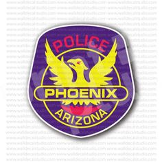 Phoenix Police Department Sticker