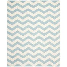 Safavieh, Chatham Blue/Ivory 10 ft. x 14 ft. Area Rug, CHT715B-10 at The Home Depot - Mobile