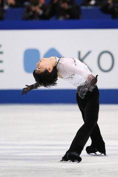 Yuzuru Hanyu of Japan competes in the Men's Free Skating during ISU World Figure Skating Championships at Saitama Super Arena on March 28, 2014 in Saitama, Japan.