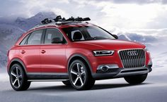 Specialized wintersport edition Audi, too bad it's a Q3 ;)