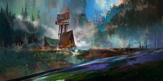 Sketch_scenery by KHIUS