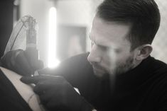 Professional blackwork, geometric and dotwork tattoo artist, located inLos Angeles California Daniel Meyer, Blackwork, Tattoo Artists, California, Tattoos, Fictional Characters, Tatuajes, Tattoo, Japanese Tattoos
