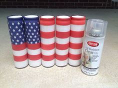 i made that star spangled banner yet wave , crafts, how to, patriotic decor ideas, seasonal holiday decor. Directions waaay too complicated. Use own idea. Emergency Candles, Displaying The American Flag, Distressing Painted Wood, Old Entertainment Centers, Patriotic Decorations, Patriotic Crafts, Light Up Canvas, Mirror With Hooks, Mother Daughter Projects