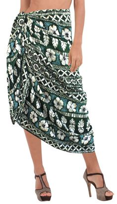 4a5475cb2fb61 Sarong Bathing Suit Pareo Wrap Bikini Cover ups Womens Skirt Swimsuit  Swimwear Pareo