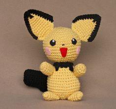 Pokemon+Amigurumi+Free+Pattern | 1500 Free Amigurumi Patterns: Pichu crochet pattern