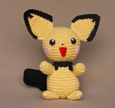 Pokemon+Amigurumi+Free+Pattern | 1500 Free Amigurumi Patterns: Pichu crochet pattern