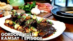 Gordon Ramsay's Ultimate Guide To Slow Cooking Ultimate Cookery Course Gordon Ramsay Slow Cook Short Ribs, Short Ribs Slow Cooker, Slow Cooked Beef, Gordon Ramsay Shows, Chef Gordon Ramsey, Slow Cooking, Cooking Recipes, Healthy Recipes, Healthy Food