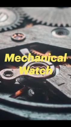 Geek Watches, Watches For Men, Geek Fashion, Fashion Watches, Mechanical Watch, Men's Watches, Mechanical Clock