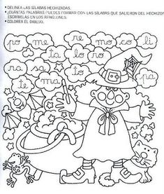 Letramanía 4 – El Rincón De Aprender Elementary Spanish, Spanish Lessons, English Class, Second Grade, Literacy, Homeschool, Witch, Language, Kids Rugs