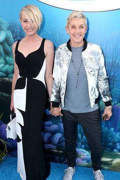 Ellen DeGeneres and Portia de Rossi Hit the Red Carpet Hand in Hand