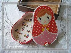 Cartonnage: Russian Doll Treasure Box 俄羅斯娃娃許願布盒 - Bonjour! Ca va? La vie est belle? - Yahoo!奇摩部落格